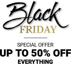 blackfriday special offer up to 50% off everything