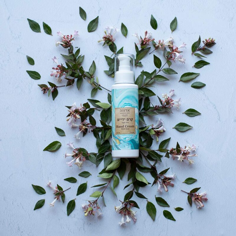 Hand cream wild rose and lavender